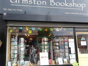 Urmston Bookshop on Flixton Rd