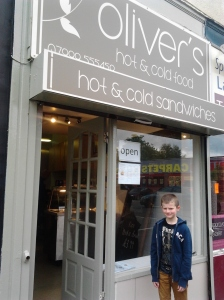 Oliver's Hot and Cold Food recently opened on Grosvenor Rd.