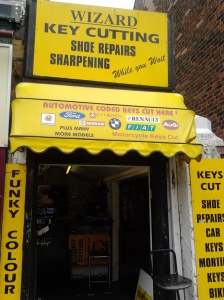 Wizard Key Cutting and Shoe Repairs on Flixton Rd.