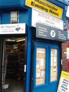 Kiosk News on Flixton Rd.