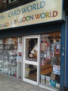 Card World on Crofts Bank Rd.