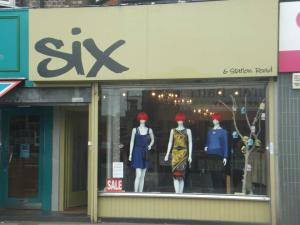 Six is an Independent boutique on Station Road.
