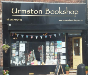 Beautiful books, quirky gifts and toys at Urmston Bookshop.