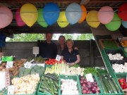 Barnes' fruit stall has been on Urmston Market for three generations.