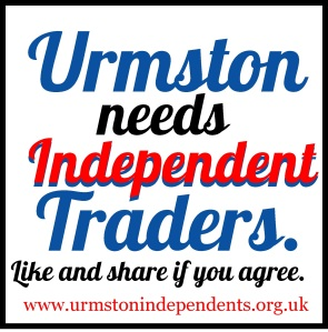 Use this on Facebook to spread the word about Urmston Independents.