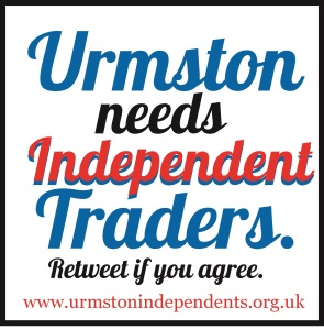 Tweet this to spread the word about Urmston Independents.