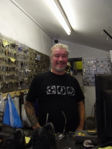 Friendly, professional service at Wizard Shoe Repairs and Key Cutting on Flixton Road.