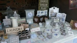 Belle Amour Home sells homewares on Urmston Market.