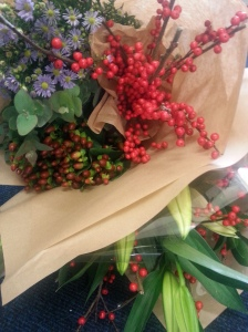 Flowers from Urmston Market.