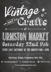 Book a stall at Urmston Market for just £12.  Photo courtesy of Urmston Market.